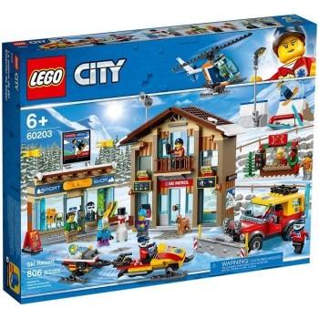 Lego City La station de ski...