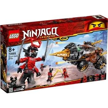 Lego Ninjago La foreuse de...