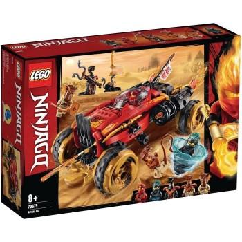 Lego Ninjago Le 4x4 Katana...