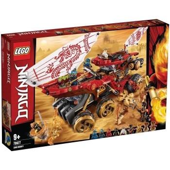 Lego Ninjago Le Q.G des...