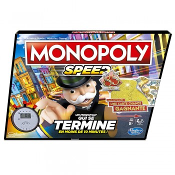Hasbro Monopoly Speed - Jeu...