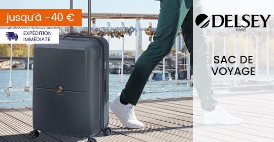 Delsey Sac de voyage et valise