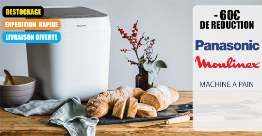 Panasonic Promotion Machine à pain